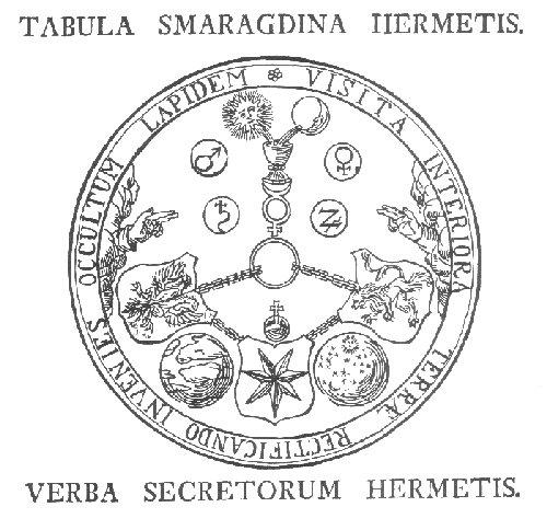 Tabula smaragdina - Cavalieri della tavola rotonda ...